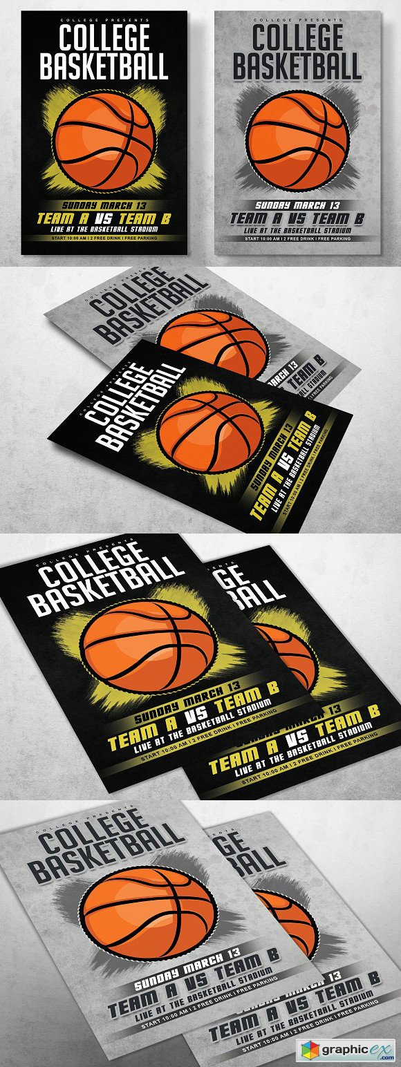 Basketball Flyer 1670860