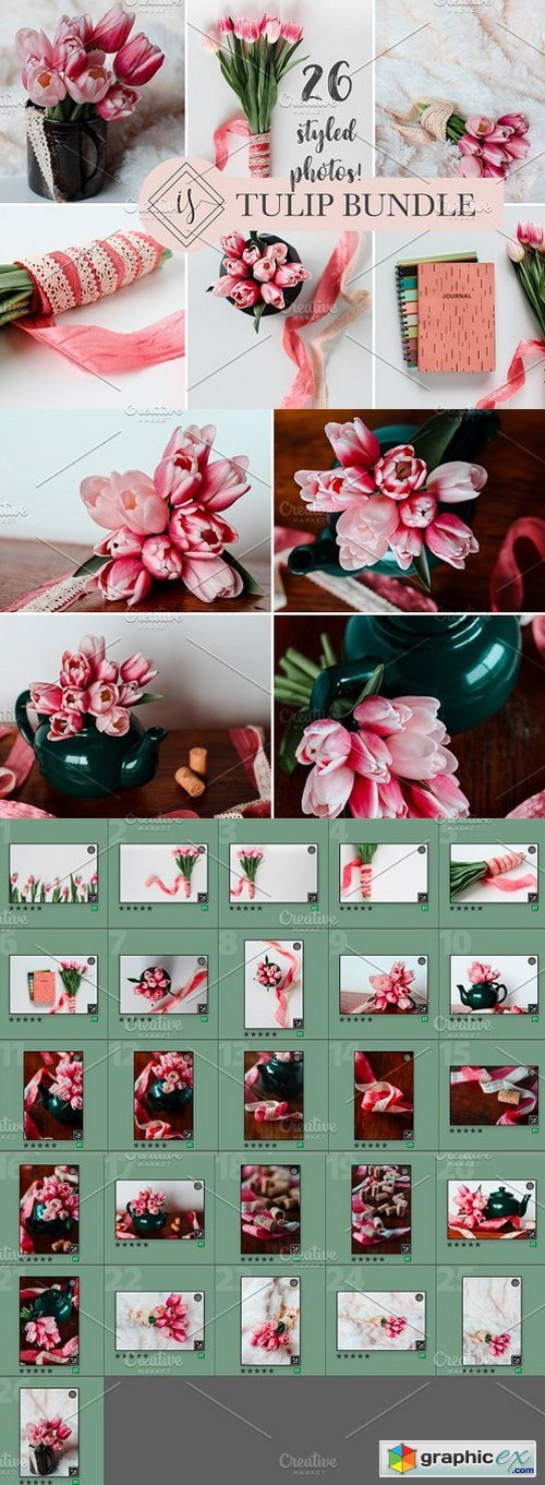 TULIP-STYLED STOCK BUNDLE