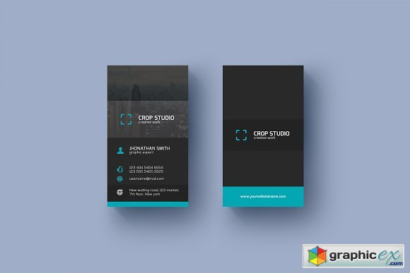Corporate Business Card 1671641