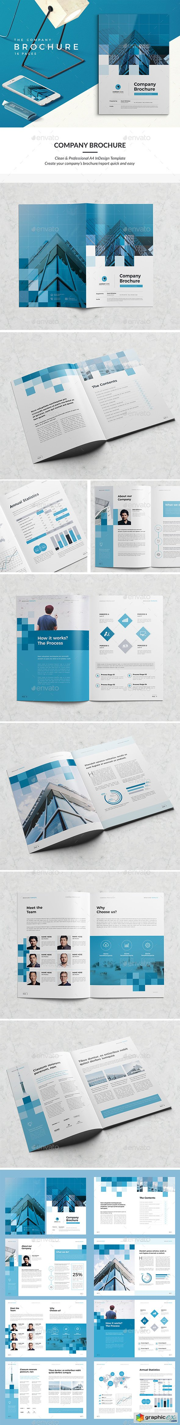Modern Company Brochure 16 Pages