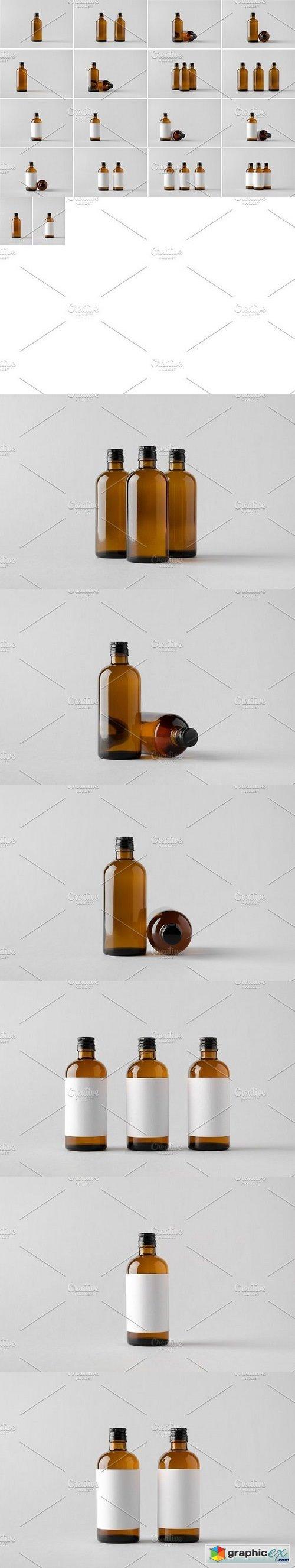 Medicine Bottle Mock-Up Photo Bundle