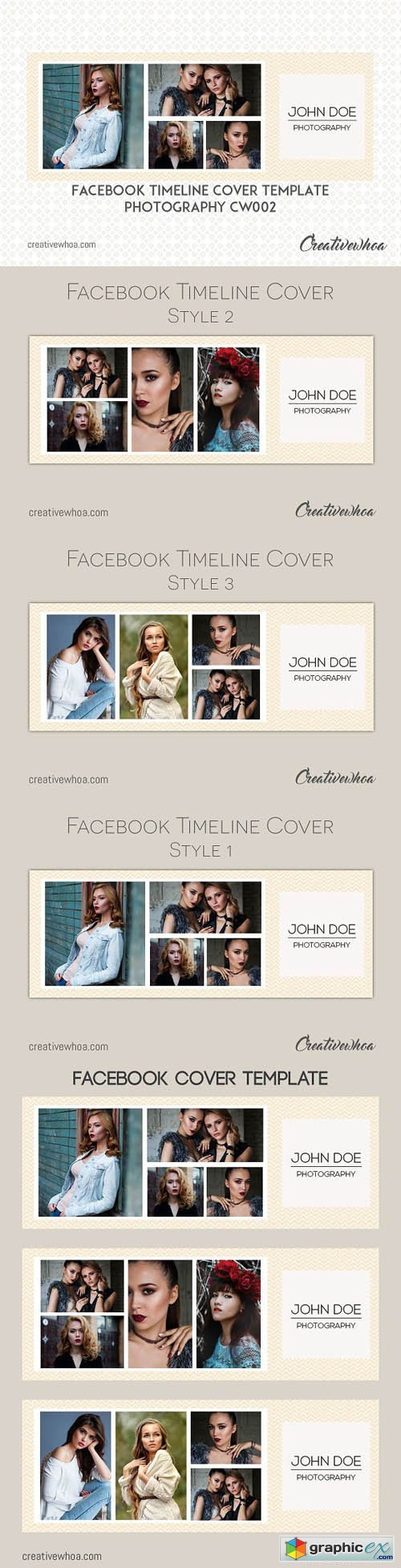 Facebook Cover Template Photography 1693650