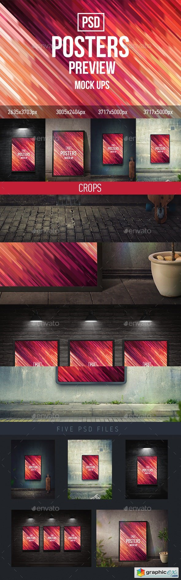 Posters Mock-Ups (PSD)