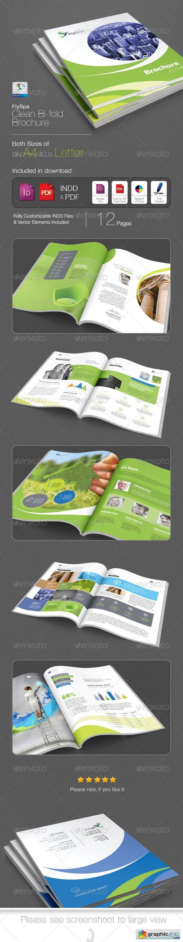 FlySpa Bi-fold Brochure