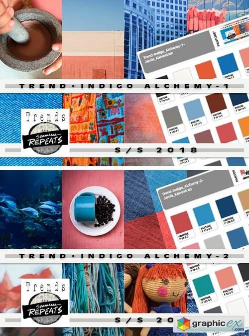 Trend Color S/S'18 Indigo Alchemy