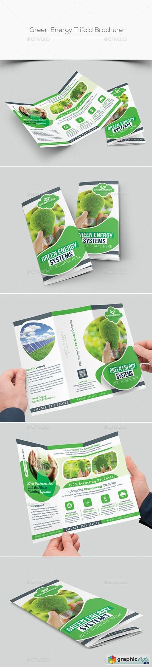 Green Energy Trifold Brochure