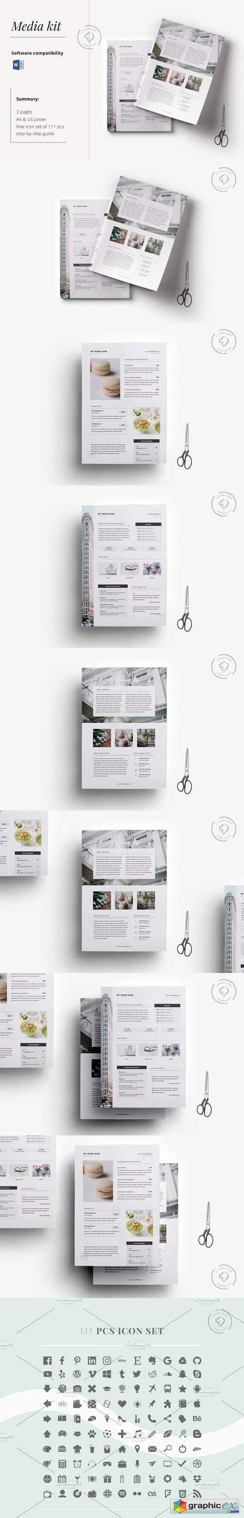 Press Kit Template for Bloggers
