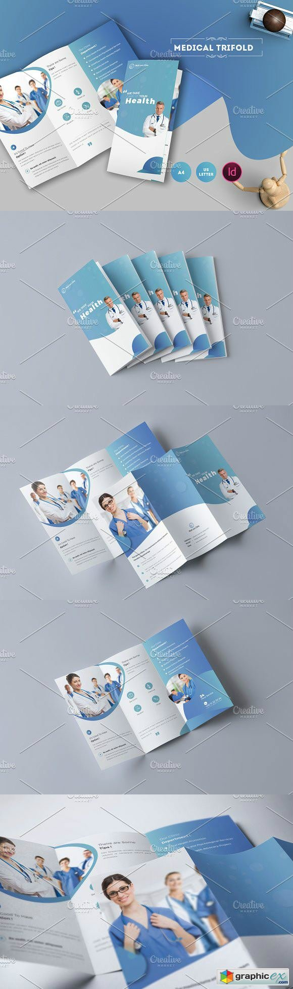 Medical Trifold Brochure 1693678