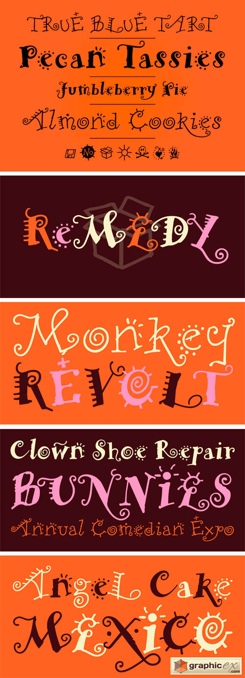 Remedy Font Family
