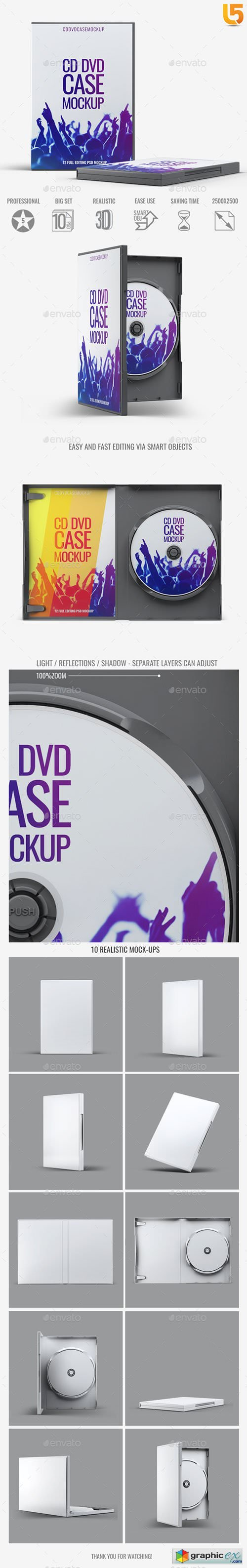 DVD CD Case Mock-Up