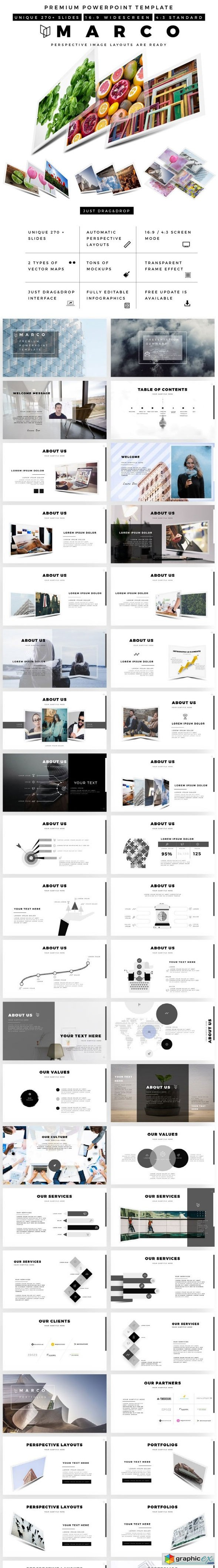 Marco Premium PowerPoint Template