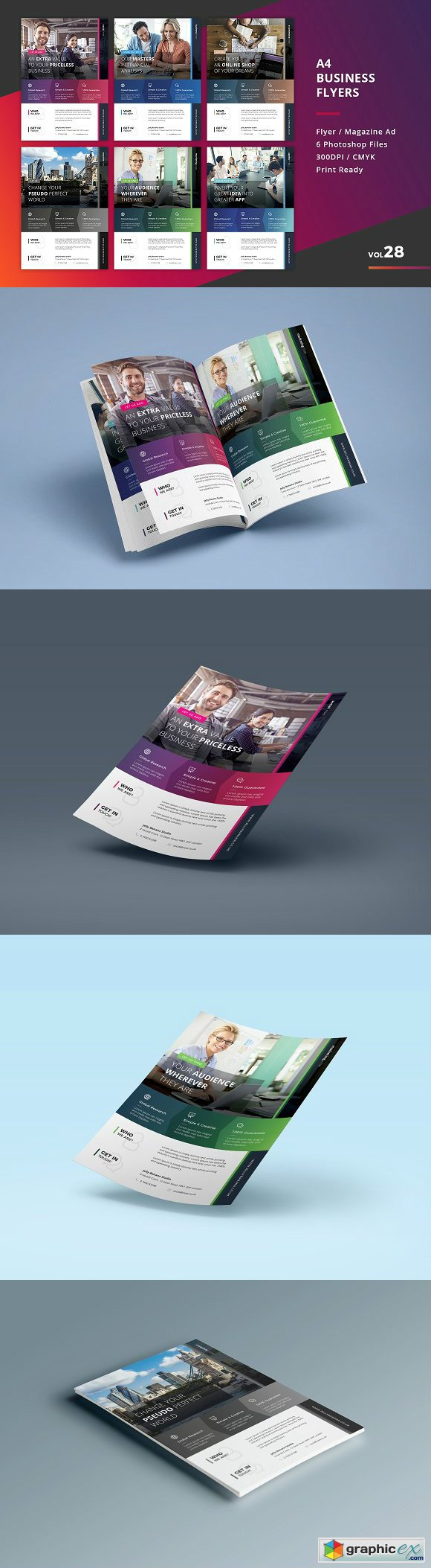 Corporate Flyer Templates 6PSD - 28