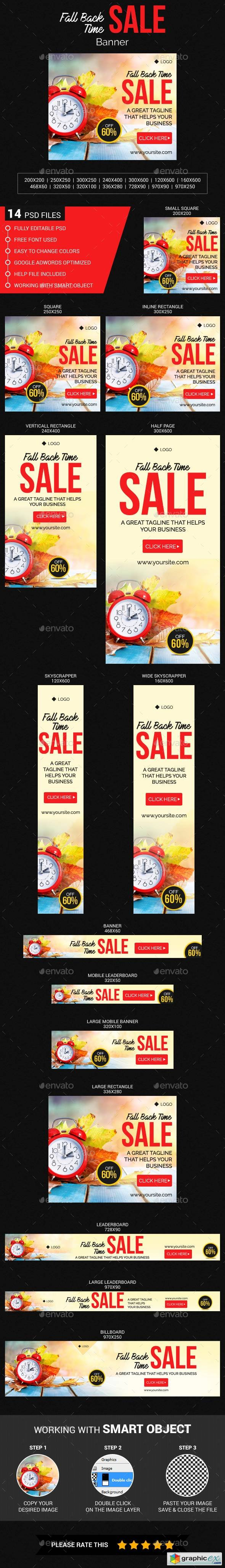 Fall Back Time Sale