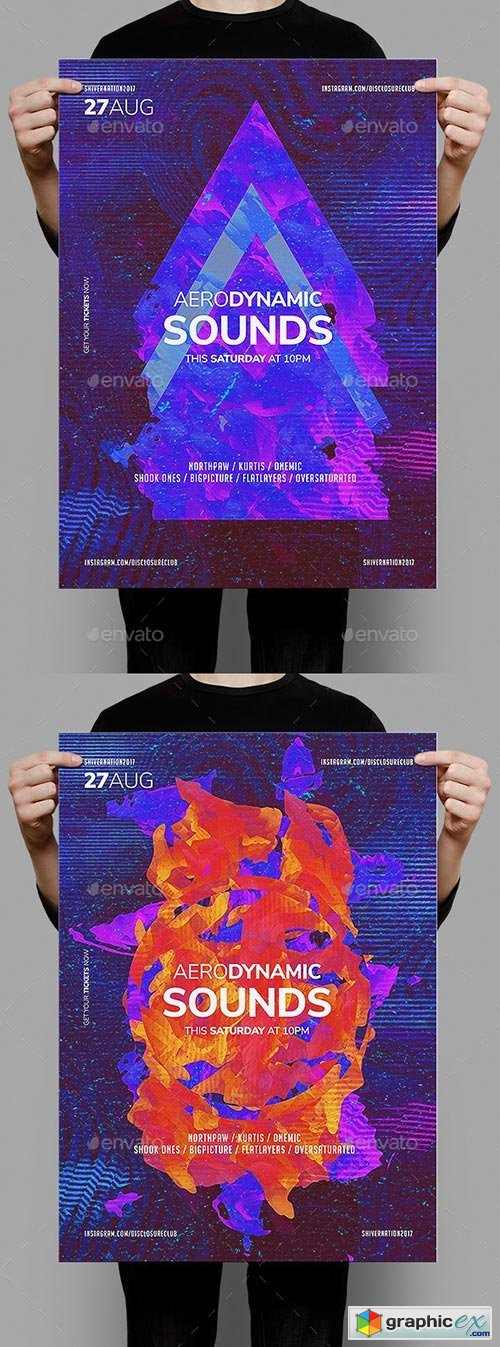 Aerodynamic Sounds Poster Template