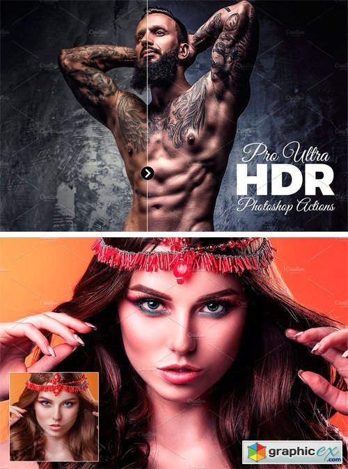 Pro Ultra HDR Photoshop Actions