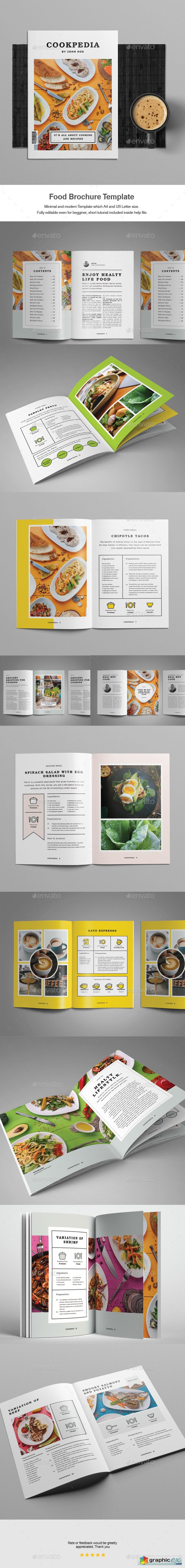 Food Brochure Template 20388647