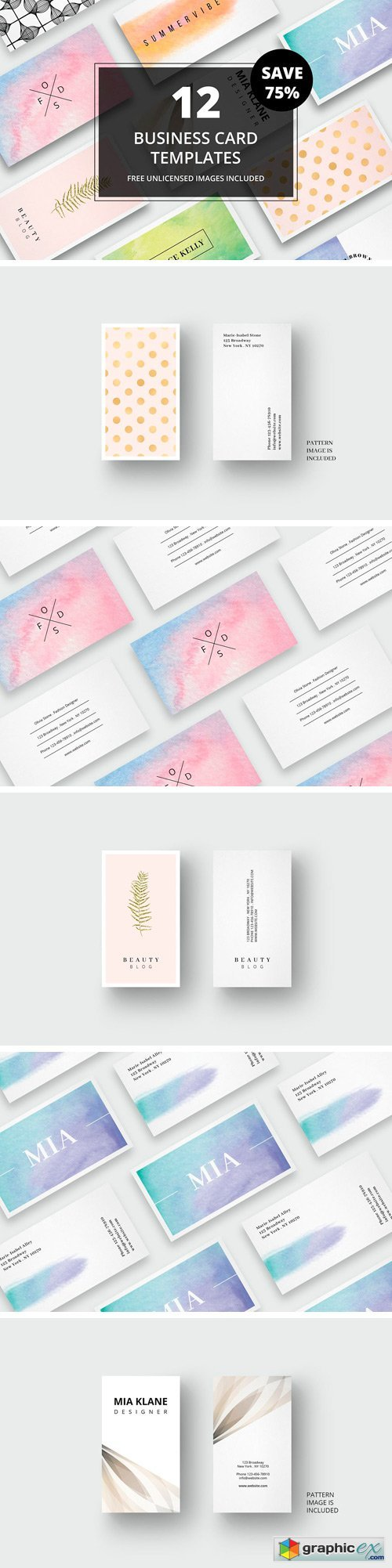 Business Card Bundle + Images No. 2