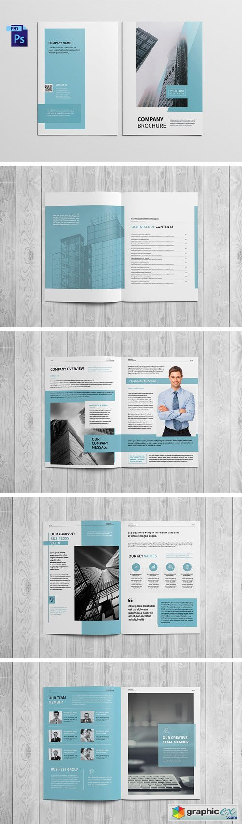Company Profile Brochure 1709746