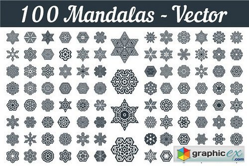 Mandalas Art Vector