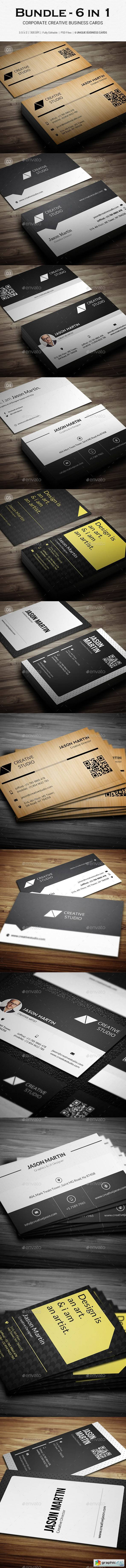 Bundle - Corporate Business Cards - B24