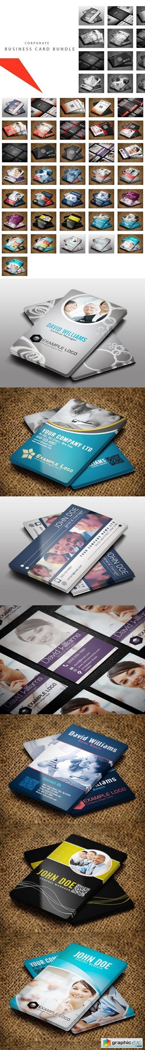 16x Corporate Business Cards