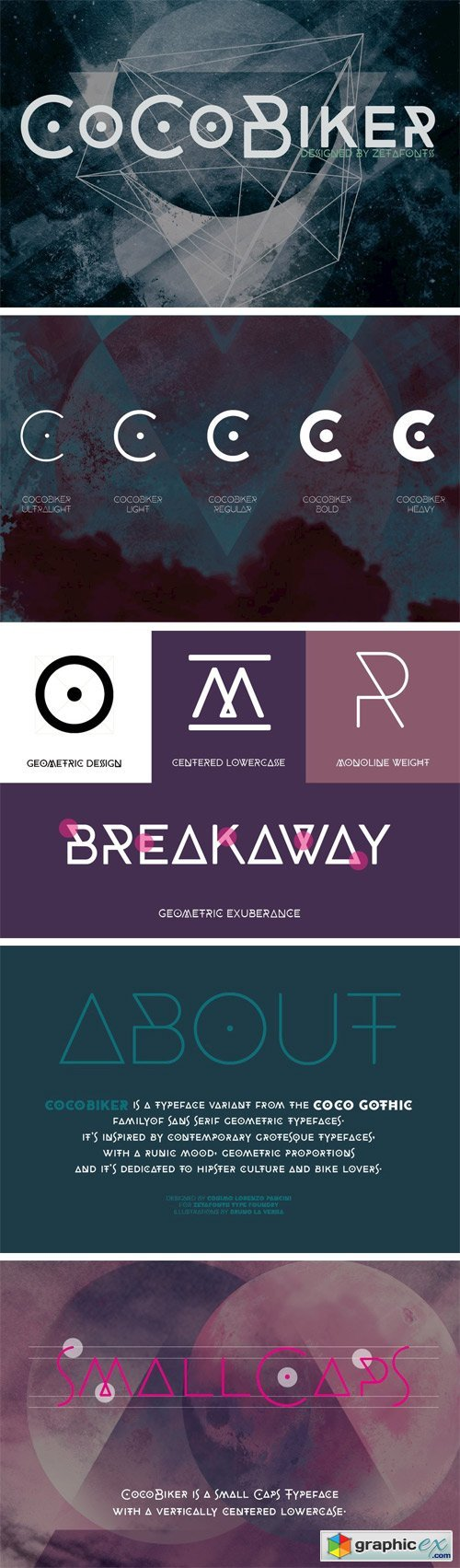 CocoBiker Font Family