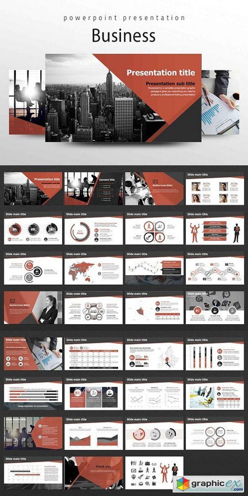 Business PPT Templates 1732096