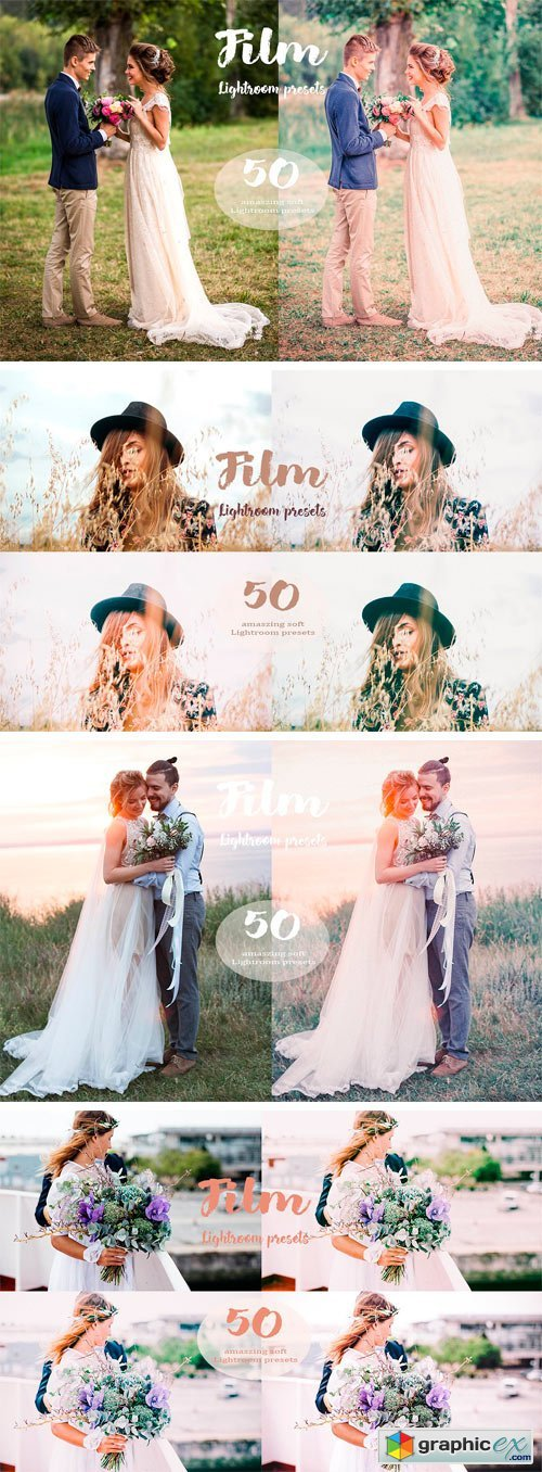 50 Film Lightroom Presets