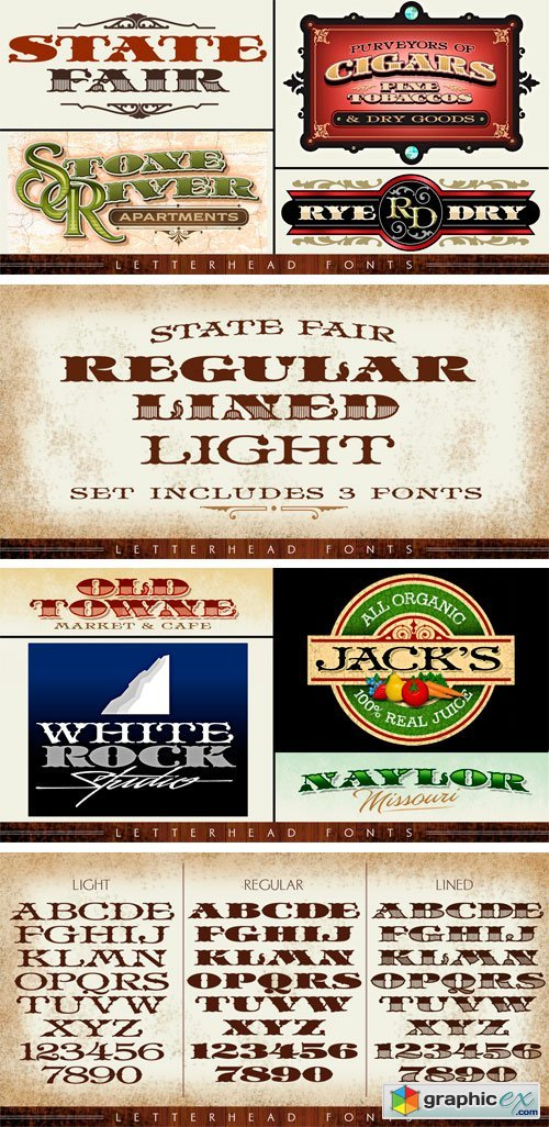 LHF State Fair Font Family