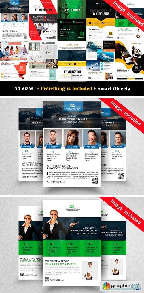 10 Business Flyer Bundle Vol.01