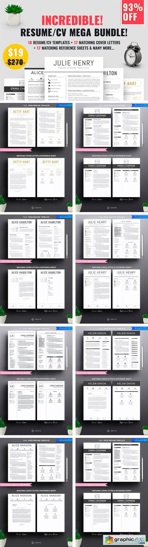 resume  cv mega bundle  u00bb free download vector stock image