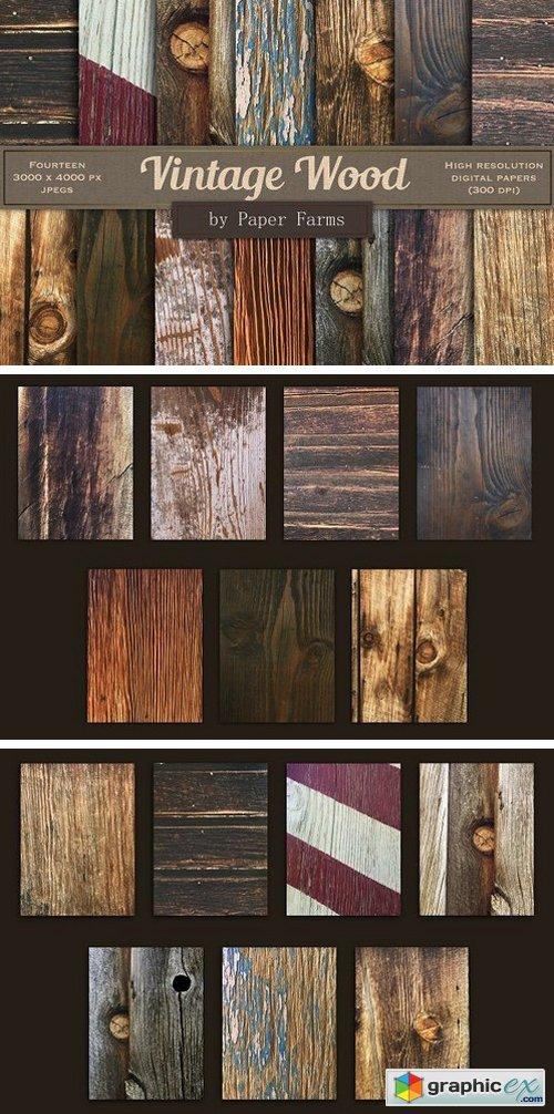 Vintage wood backgrounds