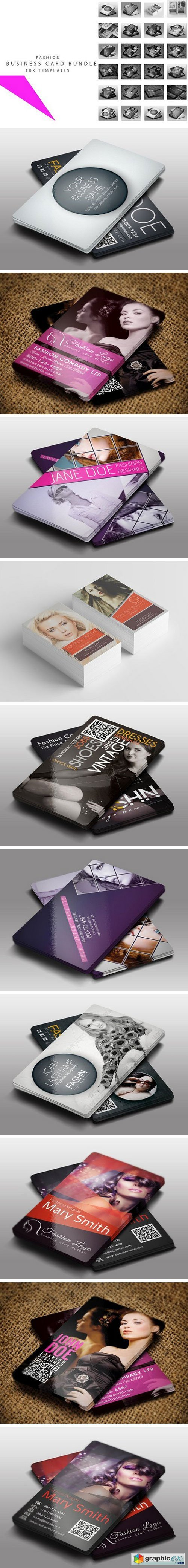 50 Stylish Fashion Business Cards Designs - TutorialChip Business cards for fashion industry