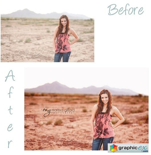 Marissa Gifford Photoshop Actions - The Signature Set
