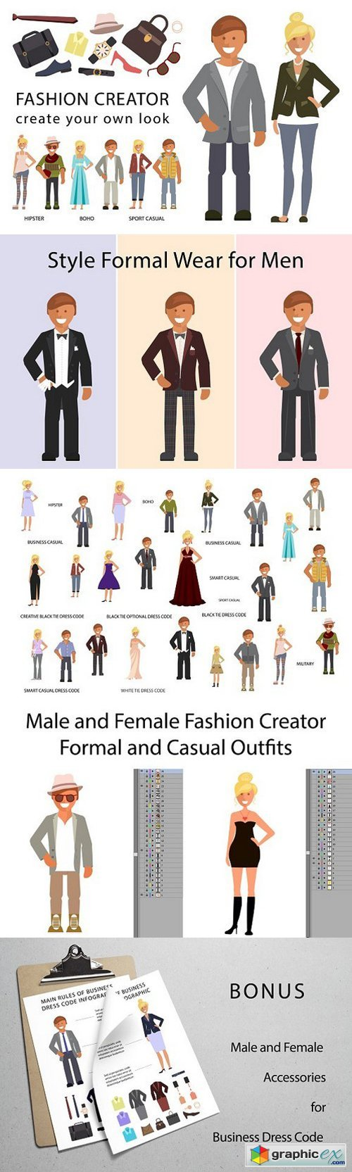 Fashion Look Creator