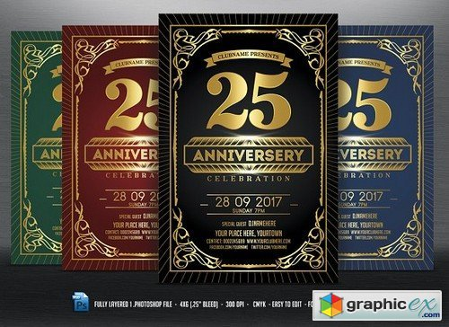 Anniversary Celebration Flyer 622558