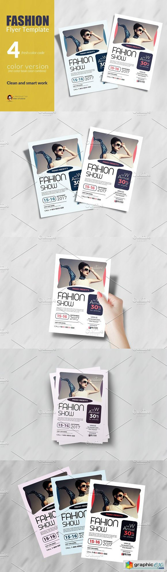 Fashion Flyer Template 1862519