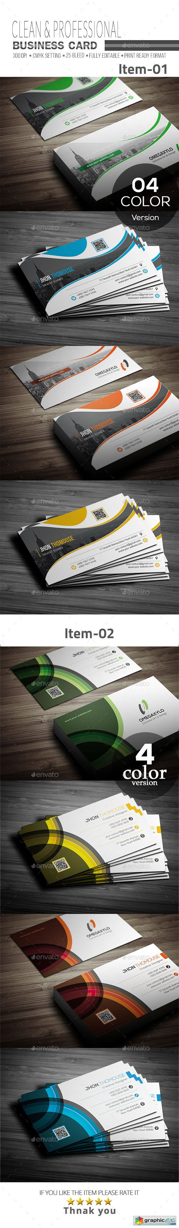 Business Card Bundle 2 In 1 20657894