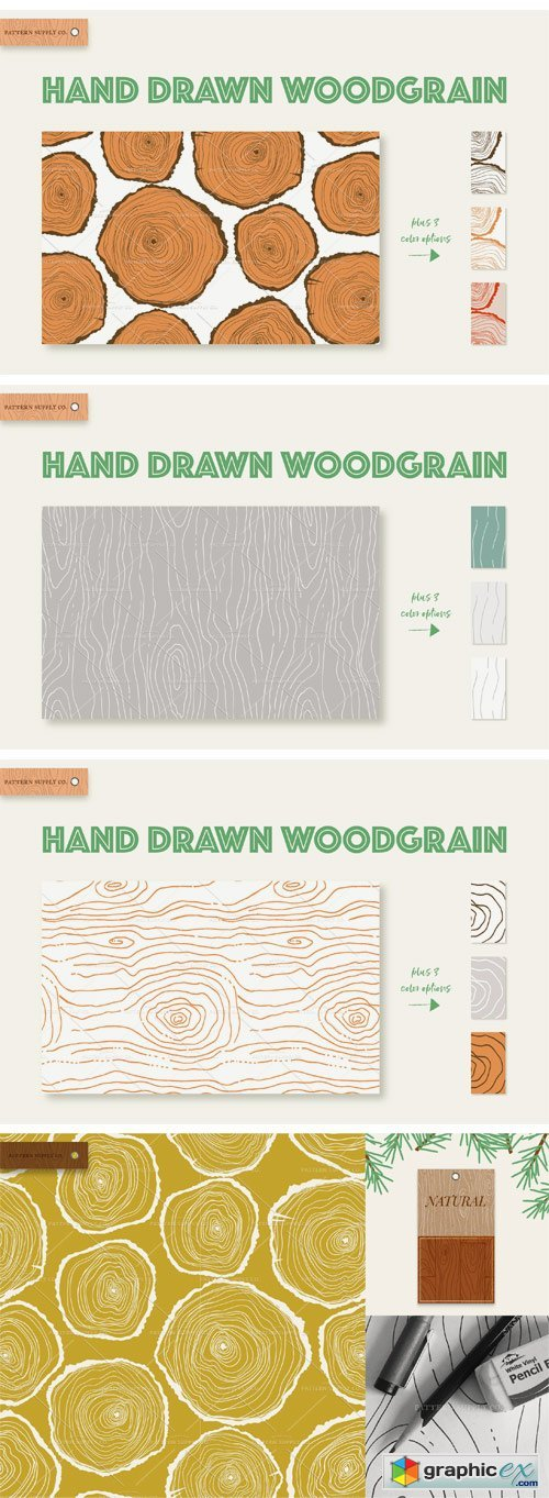 Woodgrain Patterns