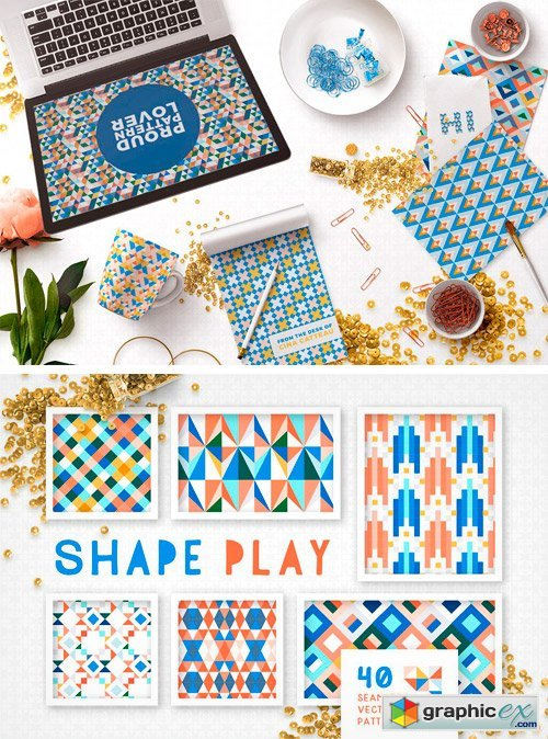 Shape Play Geometric Patterns