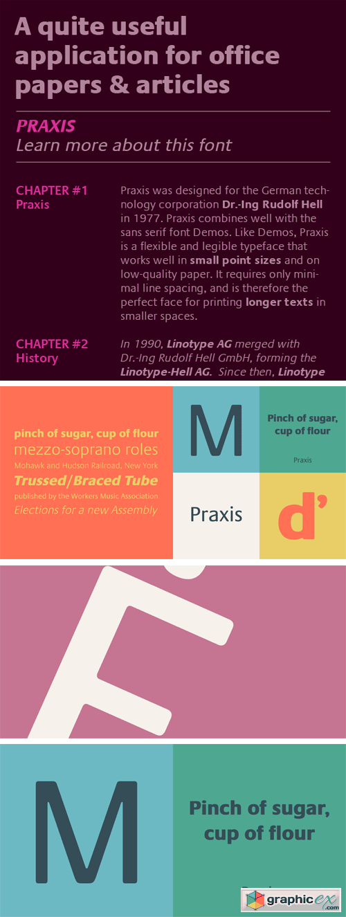 Praxis Font Family