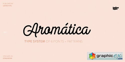 Aromatica Font Family - 7 Fonts