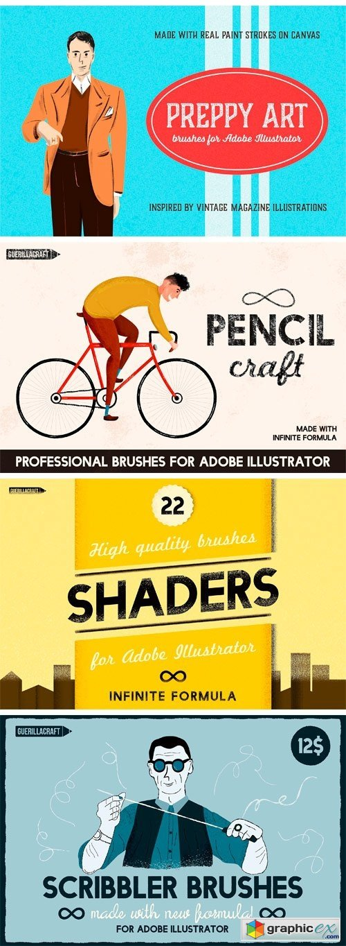 Big Bundle of Illustrator Brushes
