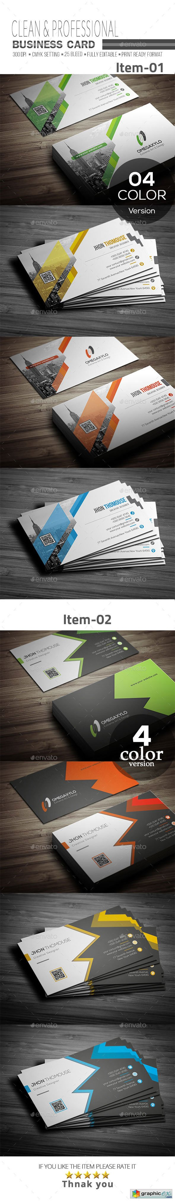 Business Card Bundle 2 In 1 20712119
