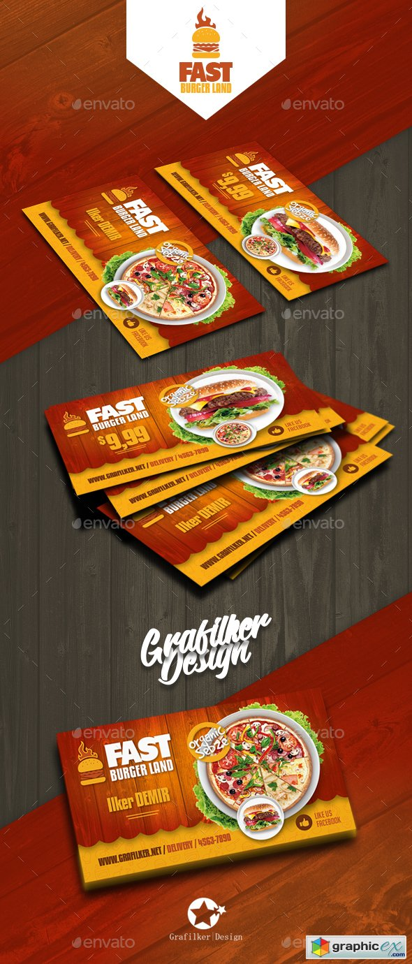 restaurant business card templates 20760814  u00bb free