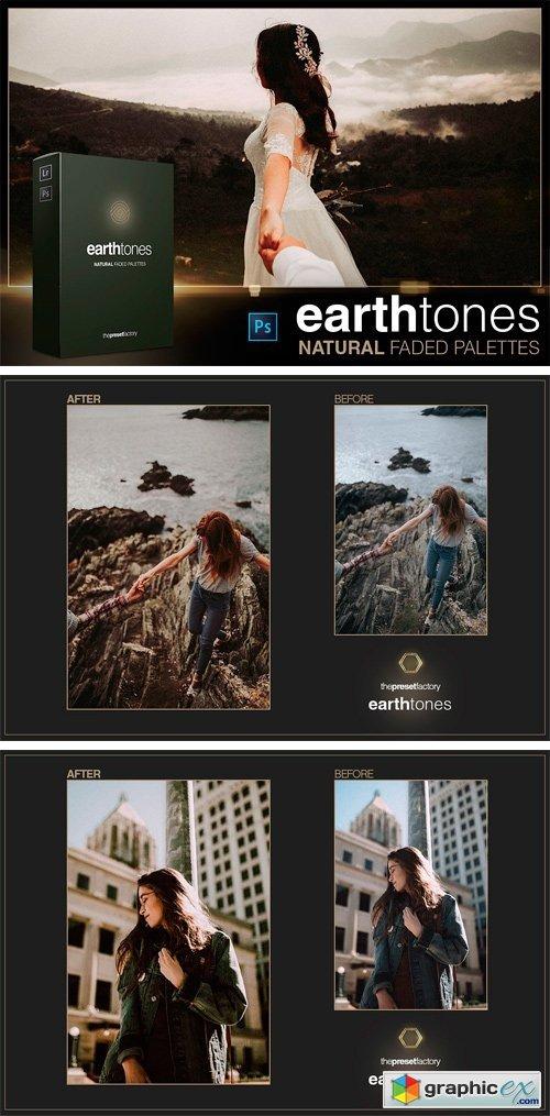Earth Tones - PS ACR Presets » Free Download Vector Stock