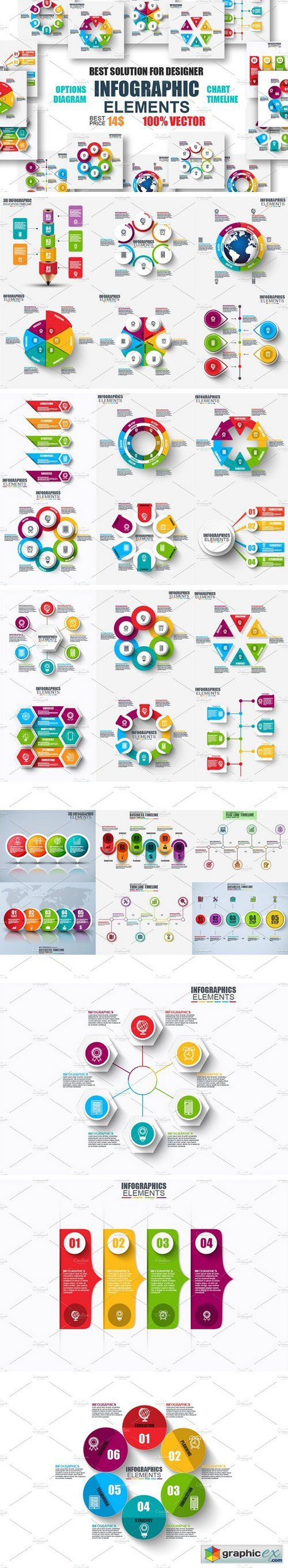 Set of Infographic Elements 1924630