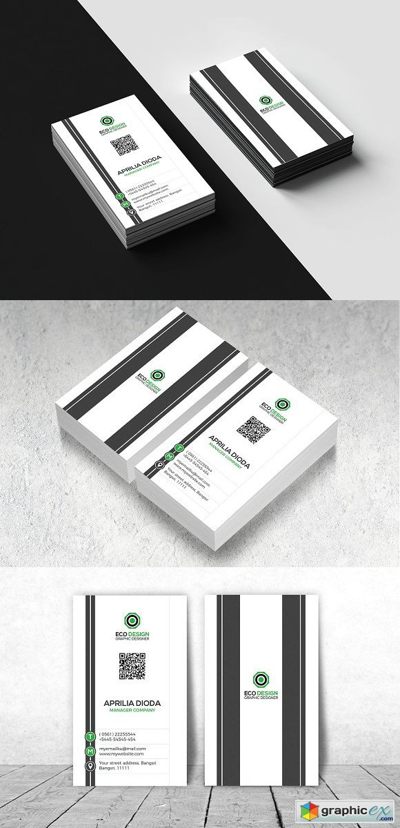 Creative Vertical Business Card 1962140