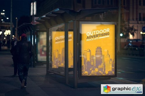 Outdoor Advertising Mock-Up Vol.2