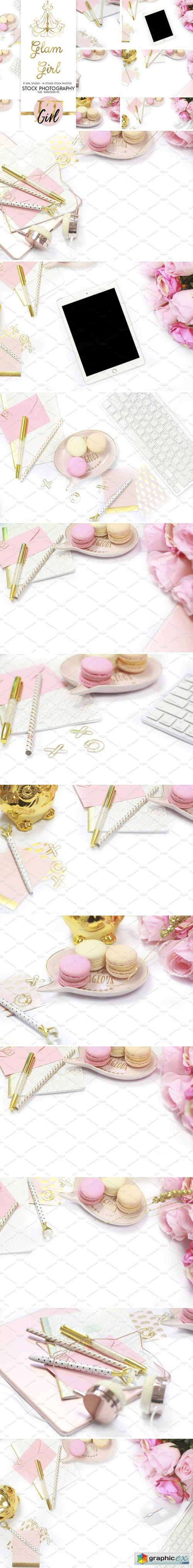 INTRO PRICE Pastel Pink Stock Bundle
